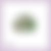 Découpe scrapbooking bouquet branches sapin houx poinsettia noël en couleurs (ref.3518)