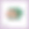 Découpe scrapbooking grande citrouille automne en couleurs (ref.3594)