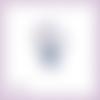Découpe scrapbooking branche plume et perles bouquet en couleurs (ref.3595)