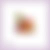 Découpe scrapbooking fruits ananas pommes raisin dessert en couleurs (ref.3622)