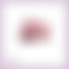 Découpe scrapbooking bus anglais voyage londres en couleurs (ref.3623)