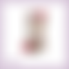 Découpe scrapbooking sablier roses fleurs arbre temps magie en couleurs (ref.3452)