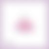 Découpe scrapbooking robe princesse rose danseuse tutu en couleurs - ref.4485