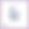 Découpe scrapbooking sac à main femme rose bleue fleur accessoire mode en couleurs - ref.4507