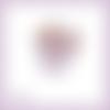 Découpe scrapbooking ecureuil poche animal fleur en couleurs - ref.4035