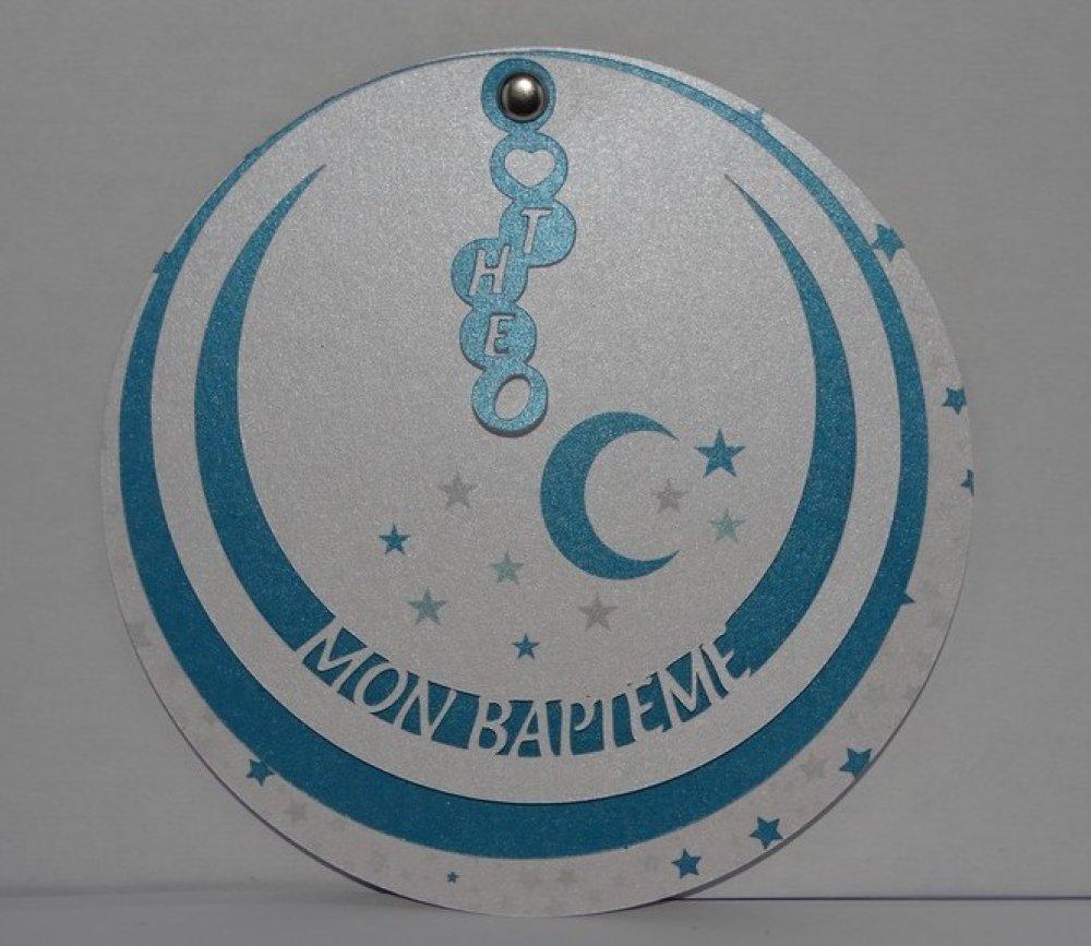Faire part cercle lune
