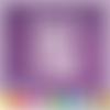 Découpe scrapbooking cadre licorne, fée, princesse, château, arc-en-ciel, coeurs embellissement die cut découpe papier scrap (ref.1904)