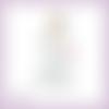 Découpe scrapbooking mariée robe blanche mariage voile en couleurs ref.1973