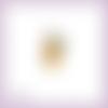 Découpe scrapbooking winnie l'ourson cadeau noël hiver écharpe lanterne en couleurs - ref.2220