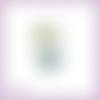 Découpe scrapbooking fille, fée, magie, hiver, noël en couleurs - ref.2487
