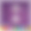 Découpe scrapbooking montgolfière, ballon, bannière, nuages, ciel, voyage embellissement die cut 32 couleurs disponibles (ref.2509)