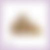 Découpe scrapbooking lapins, rongeur, animal, campagne, famille en couleurs embellissement die cut (ref.2465)