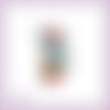 Découpe scrapbooking fée assise, fraise, princesse, magie, fille en couleurs - ref.2371