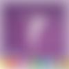 Découpe scrapbooking fée clochette profil peter pan enfant pays imaginaire magie embellissement die cut 32 couleurs disponibles (ref.2457)
