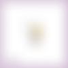Découpe scrapbooking fée clochette, face, peter pan enfant pays imaginaire magie en couleurs - ref.2460
