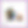 Découpes scrapbooking homme, chien, guitare, musique, gitan, espagne, feu en couleurs embellissement die cut (ref.2470)
