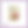 Découpe scrapbooking faon et animaux, bébé, biche, lapin, arbre, nature, naissance, en couleurs embellissement die cut (ref.2544)