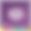 Découpe scrapbooking cadre baby, bébé, landau, naissance, amour, fleurs - ref.2452
