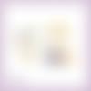 Découpes scrapbooking bébé, biberon, mobile, tétine, hochet, naissance, accessoires en couleurs embellissement die cut (ref.2522)