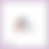 Découpe scrapbooking 101 dalmatiens chiot nounours chien dessin animé en couleurs embellissement die cut découpe papier scrap (ref.2789)