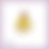Découpe scrapbooking belle la belle et la bête princesse en couleurs embellissement die cut (ref.1070)