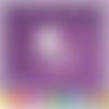 Découpe scrapbooking berceau bébé, lit, enfant, naissance - ref.0739