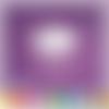 Découpe scrapbooking nuage girl, fille, bébé, enfant, naissance - ref.0136