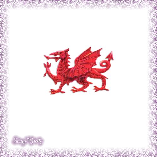 Découpe scrapbooking dragon prince princesse magie conte fées histoire en couleurs embellissement die cut découpe papier scrap (ref.2797)