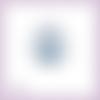 Découpe scrapbooking paon animal oiseau plume roue en couleurs embellissement die cut découpe papier scrap (ref.3000)
