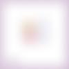 Découpe scrapbooking souris miroir robe mode animal en couleurs embellissement die cut découpe papier scrap (ref.3028)