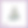 Découpe scrapbooking sapin de noël cadeaux flocons étoiles décorations hiver fête en couleurs - ref.3019