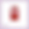 Découpe scrapbooking etiquette tag père noël joyeux noël métallisé texte personnalisable embellissement découpe papier (ref.3113)