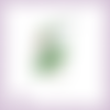 Découpe scrapbooking fée verte magie elfe conte féerie étoile princesse en couleurs - ref.3197