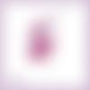 Découpe scrapbooking fée fushia magie elfe conte féerie étoile princesse en couleurs - ref.3195