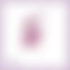 Découpe scrapbooking fée rose magie elfe conte féerie étoile princesse en couleurs- ref.3194