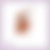 Découpe scrapbooking fée orange magie elfe conte féerie étoile princesse en couleurs - ref.3193