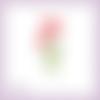 Découpe scrapbooking coquelicots fleur plante nature naissance mariage anniversaire en couleurs embellissement die carte papier (ref.3190)
