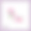 Découpe scrapbooking chaussure femme rose accessoire mode sac mariage escarpin en couleurs embellissement die cut carte papier (ref.3188)