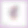 Découpe scrapbooking femme pin up selfie téléphone photo ancre marine bateau mer en couleurs embellissement die carte papier (ref.3385)