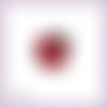 Découpe scrapbooking pomme fruit dessert en couleurs (ref.3608)
