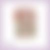 Découpe scrapbooking porte jardin roses fleurs en couleurs (ref.3316)