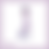 Découpe scrapbooking femme robe violette vintage belle époque - ref.4494