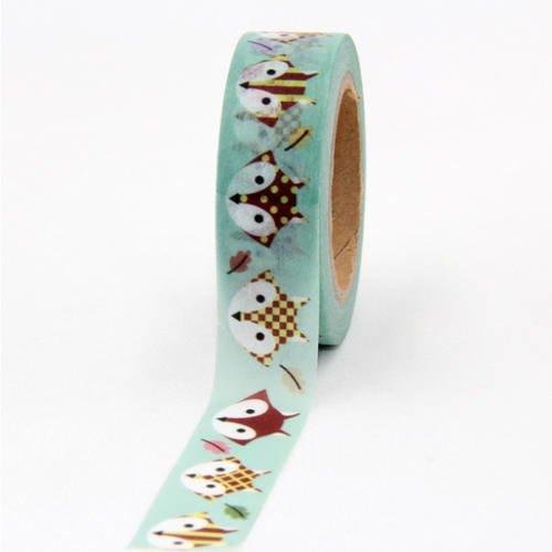 Masking tape avec un joli petit renard ♥ washi tape, adhésif