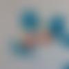Boucles d'oreilles clips enfant fruit cabochon cerises