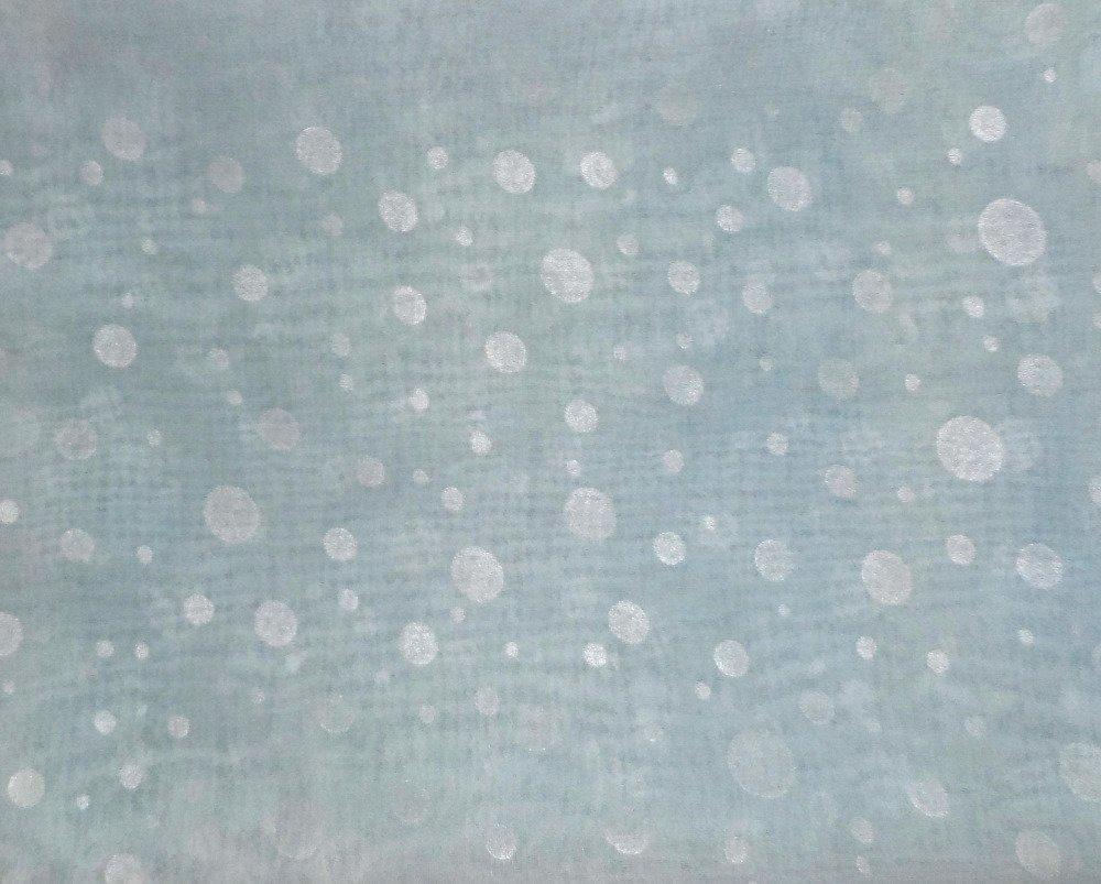 Echarpe mousseline bleu ciel