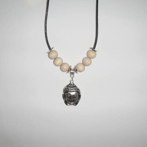 collier homme bouddhiste