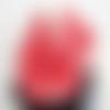 Écharpe tube femme, coloris corail orange rosé, chèche demi-saison, snood foulard infini, chauffe-cou, cache-col, tour de cou