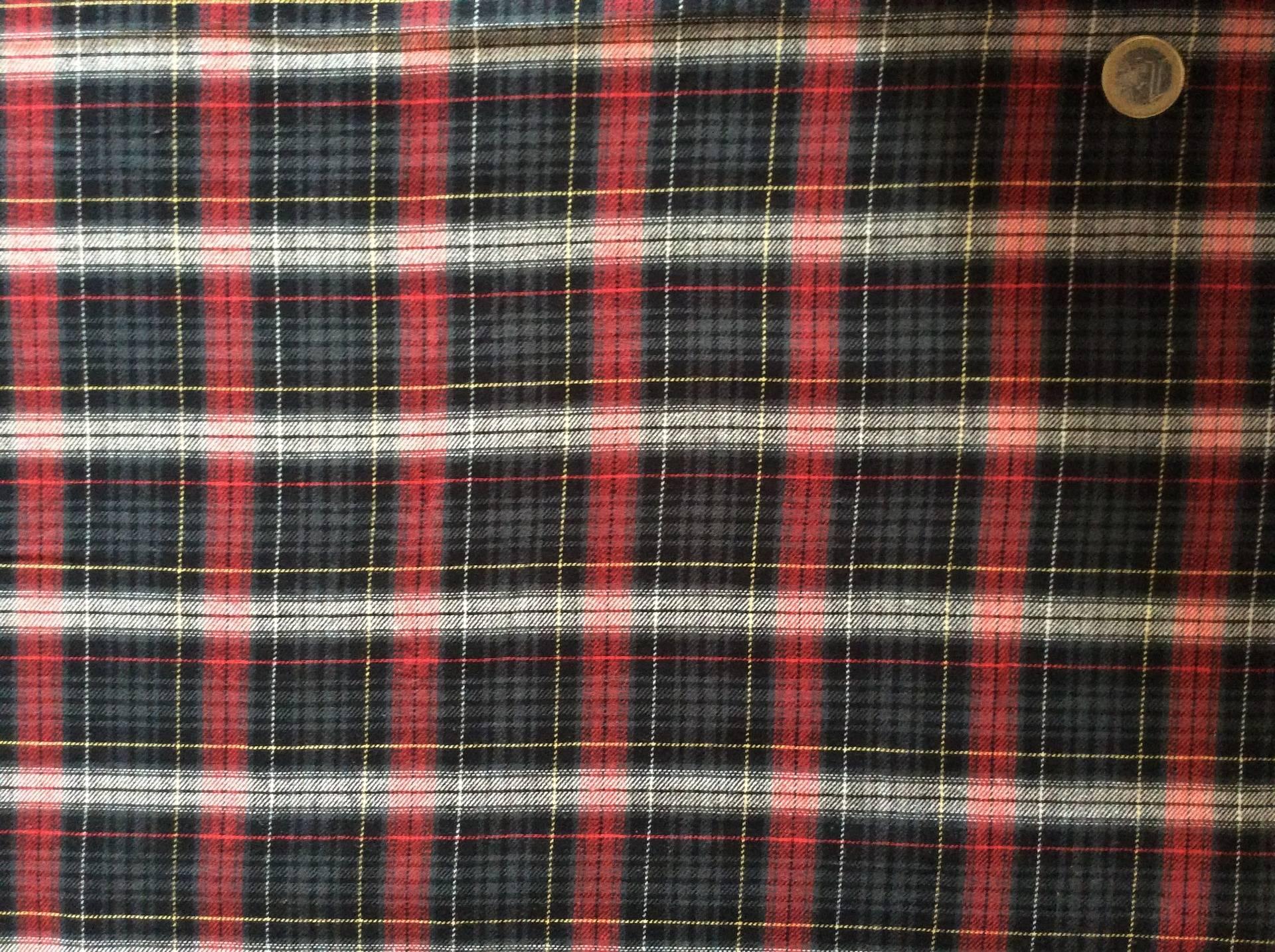Tissu Coton à Carreaux Pour Chemises Ou Chemisiers