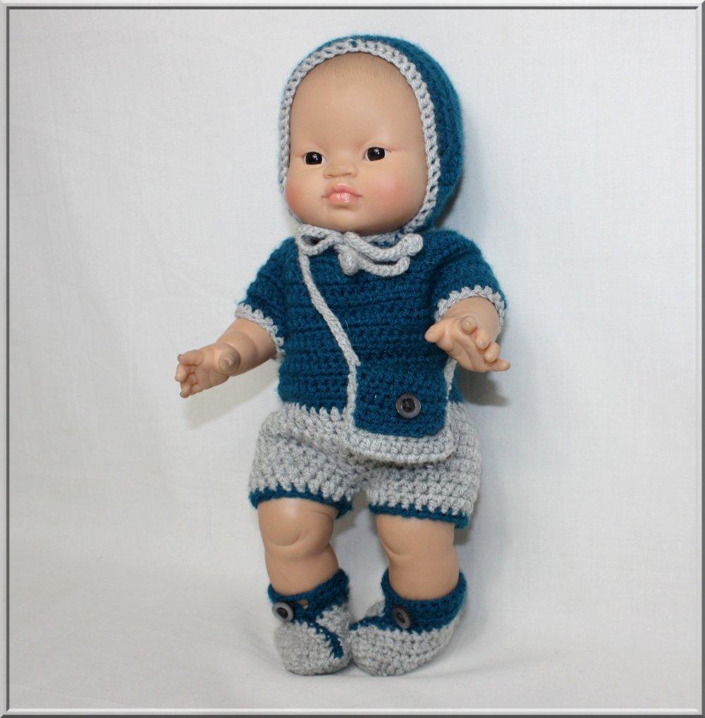 Ensemble pour poupée / poupon 30/34 cm