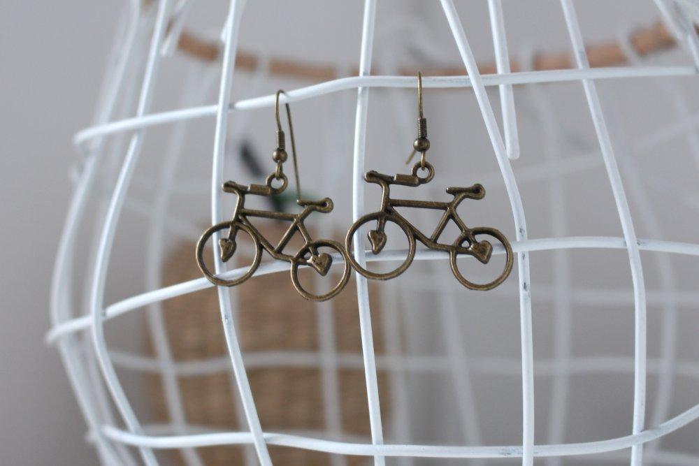 Boucles d'oreilles Basko Bronze